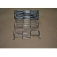 Stainless Steel Flat Flex Wire Mesh Conveyor Belt For Drying And Cooking Manufactures