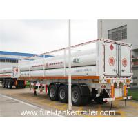 25.02 m³ Total volume CNG tank Trailer truck with 6 CNG tubes designed Manufactures