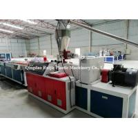 China Industrial WPC Wall Pvc Wall Panel Machine With Laminating Equipment on sale