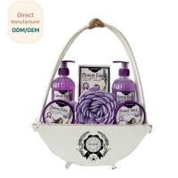China Travel Home Spa Gift Set 24.5*5.5*15 Personal Bath Cleaning OEM Service on sale