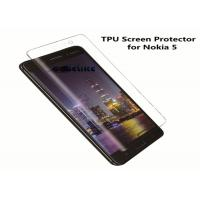 Quality High Transparent TPU Nokia 5 Screen Protector 4H Electrostatic Adsorption for sale