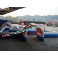 Water-proof Inflatable Sports Games , Inflatable Car Race Track Manufactures