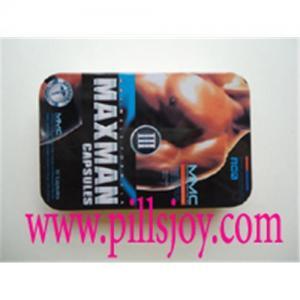 Maxman III Sex Capsules Manufactures