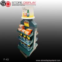 Advertising pop double sides display stands Manufactures
