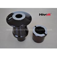 Brown Color Transformer Bushing Insulator With DIN Standard 42539 Manufactures