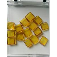 China Yellow Large Synthetic Diamond For Metal Processing:Cast Iron Disc Grinding on sale