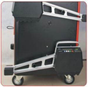 Quality LAUNCH X-631+ Wheel Alignment Machine 6M Wheel Base For Passenger Cars / Light Trucks for sale