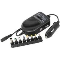 China With LED show DC 80W universal laptop computer charger for car use - ALU-80D1C on sale