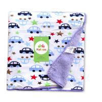 Double side printed soft polar fleece baby knitted blanket for baies, Knitted for sale
