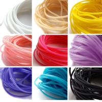 Heat Resistant Silicone Rubber Cord High Elasticity High Strength With Long Lifespan Manufactures