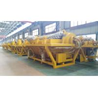 China Iron Ore Sewage Ceramic Disc Filter , 40 M³ Rotary Disk Filter Automatic Liquid Discharging on sale