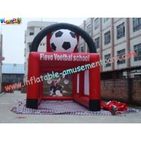 Durable PVC tarpaulin Inflatable Football field Fun Sports Games for Rent Manufactures