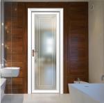80x35 flat surface aluminium frame door double glazed doors casement door toilet door design aluminum casement door Manufactures