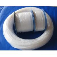Natural White Pure Extruded PTFE  Tube For Wire And Cable Jacket Manufactures