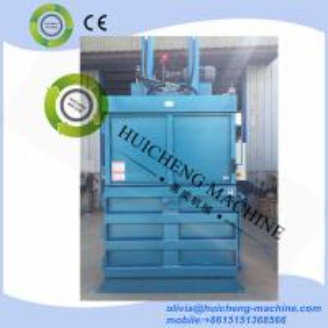 hyraulic vertical waste paper cardboard plastic press baler machine baling machine Manufactures