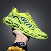 China Mens New Design Hot Sale summer Breathable mesh sports shoes series comfortablr Quality on sale