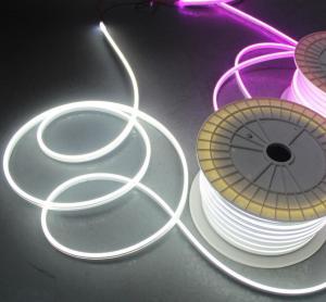 China cold white led neon 12v silicone neon light strip mini 6mm smd led neon flex light on sale