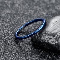 2019 NUNCAD 2mm Width Blue Fully Polished Tungsten Carbide Ring Wedding Band Promise Anel Masculino Tungsten Steel Ring Manufactures