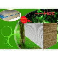 China Mineral wool sandwich panel on sale