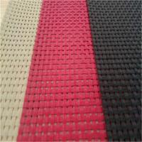 China Reinforced PVC Polyester Mesh Fabric Heat Sealable High Durability on sale