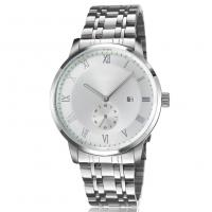 China 5ATM Waterproof  Alloy Case Quartz Men′s Watch Stainless Steel Watch Band Bracelet  Fashion Wrist Watch for Men on sale