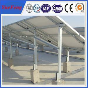 Ground Solar Mounting Racks, Aluminum Racks for Solar Panels Manufactures