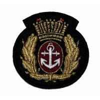 Embroidered  Iron On Animal Army National Guard Patches Flower Letter Manufactures