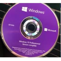 French Windows 10 Pro Key Code Windows 10 Professionnel Version complete DVD Package Manufactures