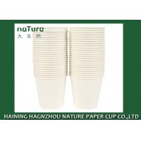Disposable Plain Single Wall Paper Cups Poly Lined BPA Free Flexo Printing Manufactures