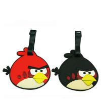 Birds Shape Silicone Luggage tag  / Bag tag with top quality Manufactures