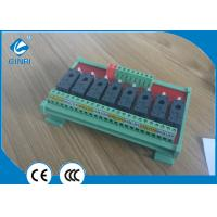 Quality 8 Channel Relay Module Board PLC Relay Module Connection With PLC Output Control DC24V  JR-8L1 for sale