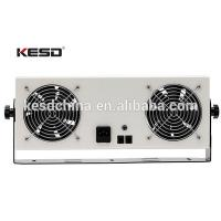 Double-Head ESD Overhead Ionizer Self Cleaning Type Anti Static Ionizing Air Blower Manufactures