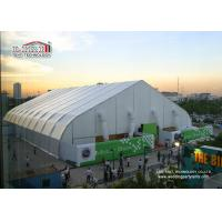 40m Width Portable Aluminum Waterproof  Exhibition TFS Polygon Tent Structures With Air Conditioner Manufactures