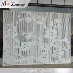 Flower image perforated aluminum panel,Custom manufactured perforatedl panel Manufactures