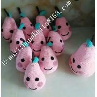 Factory Custom OEM High Quality Hand Knit Crochet Cotton Baby Pet  Animal Kid Toys and Dolls  DIY Fruit Toy Manufactures