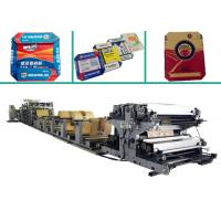 Buy cheap Flat & Glued Bottom Cement Kraft Paper Bag Making Machine with Servo System from wholesalers