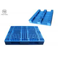 "40"" X 48""  PP Material Plastic Racking Pallets With Metal Reinforcing Rods 1000kg Rack For Warehouse Manufactures"