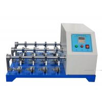 China BS - 3144 Standard Leather Testing Equipment For Flexing Resistance Test with 12 Groups on sale
