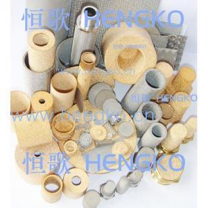 China Sintered bronze filter on sale