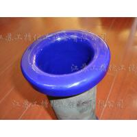 China White Blue Enamel Fine Chemicals Nozzle Edge for Glass Lined Reactor Repair on sale