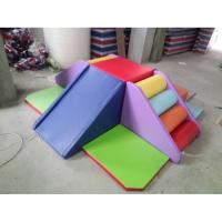 Modularized Indoor Soft Climber Playset , Childrens Soft Play Equipment Anti Crack Manufactures
