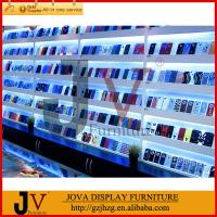China Factory supply cell phone accessories display rack on sale