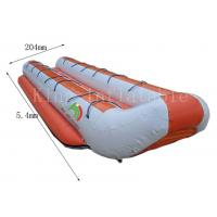 China Customized Double Row Inflatable Banana Boats 5.4 *2.04 m 14 Seats on sale