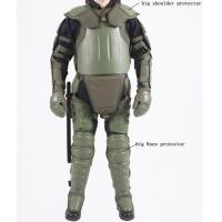 Big size Police Protective Fullbody  Anti Riot Suit for riot control with bigger shoulder and knee protector Manufactures