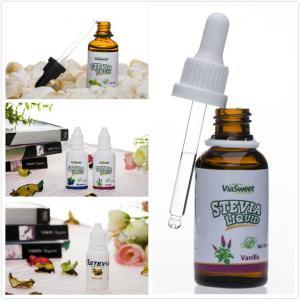 0 calorie multi flavors stevia liquid sweetener natural sweetener for coffee, tea Manufactures