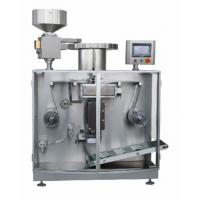 High Speed Automatic Strip Packing Machine , Capsule / Tablet Packaging Machine PLC Controlled Manufactures
