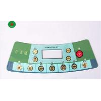Flexible PVC / PC / PET Gloss Tactile Membrane Switch Keypad For Instruments Manufactures