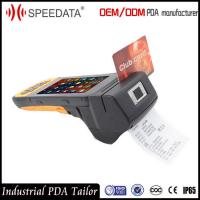 4G LTE Handheld Mobile POS Device with Biometrics Fingerprint Reader Printer Manufactures