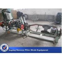 Horizontal Design Barbed Wire Machine / Single Twisted Machine 3kw Motor Manufactures