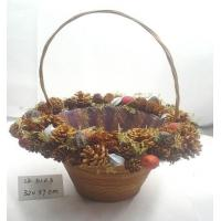Quality Handmade basket,artificial crafts for holiday gifts ornaments and decoration for sale